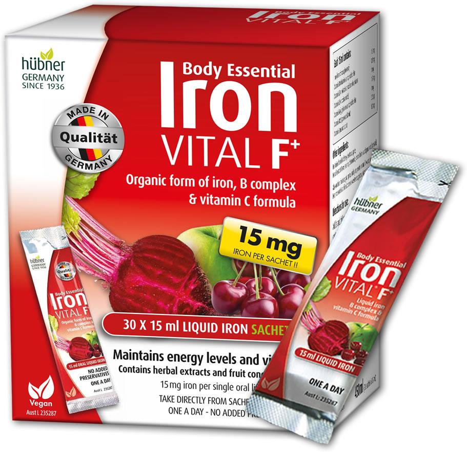 Iron Vital F+ Liquid Iron Sachets