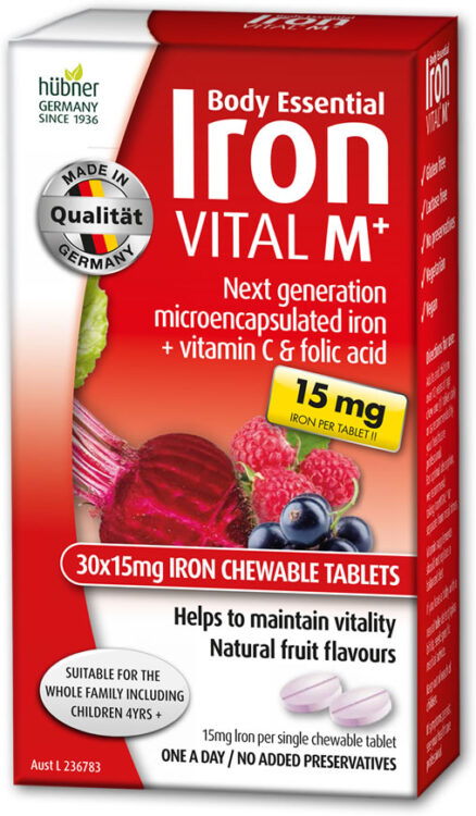 Iron Vital M+ Chewable Tablets