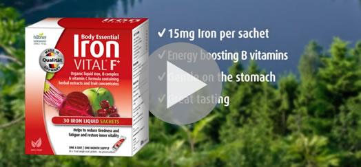 Hubner Body Essential Iron VITAL Supplements TVC Australia (2020)
